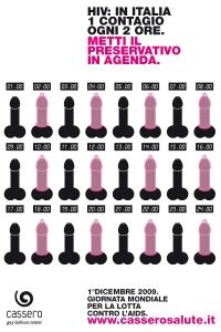 Cassero, Preservativo in agenda