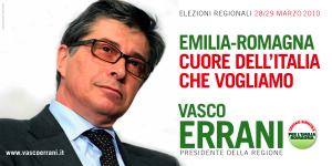 Vasco Errani poster 6x3
