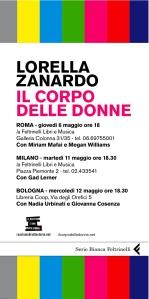 Presentazione libro Lorella Zanardo