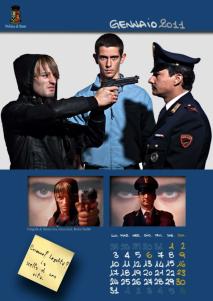 Calendario Polizia 2011 Gennaio