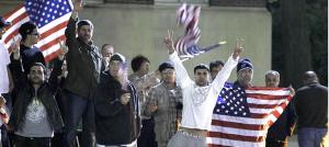 Americani che festeggiano 1