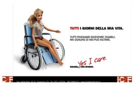Torna La Barbie Disabile D I S A M B I G U A N D O