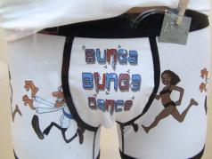 Boxer Bunga Bunga Dance fronte