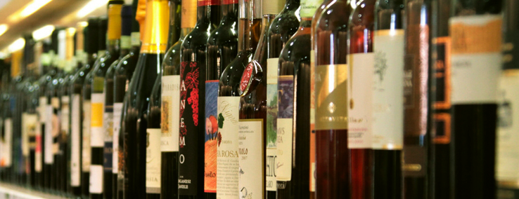 Bottiglie di vino