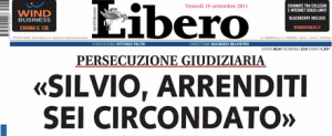 Silvio, arrenditi!