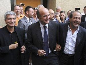 Bersani, Di Pietro e Vendola a Vasto