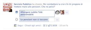 Sondaggio Santoro Facebook 3