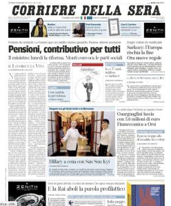 Il Corriere 2 dicembre 2011