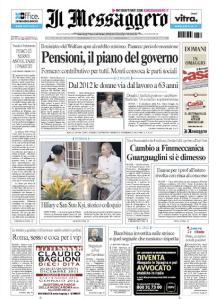 Il Messaggero 2 dicembre 2011