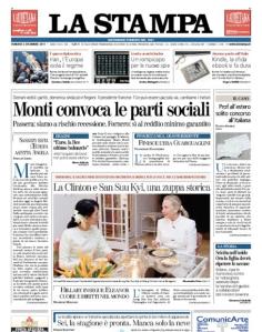 La stampa 2 dicembre 2011