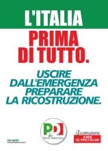 L'Italia prima tutto Pd nazionale