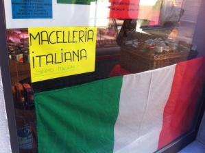 Macelleria italiana. Siamo italiani!