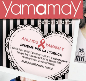 Yamamay Insieme per la ricerca