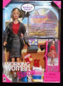 Barbie che lavora