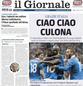 Il Giornale, 29 giugno 2012
