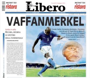 LIbero, 29 giugno 2012