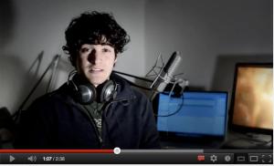 VideoCV di Damiano, fermo immagine