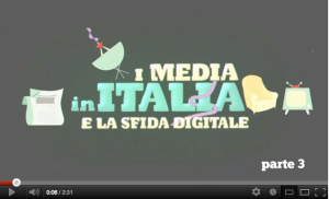 I media in Italia e la sfida del digitale
