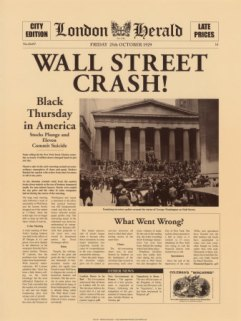 Wall Street Crash!