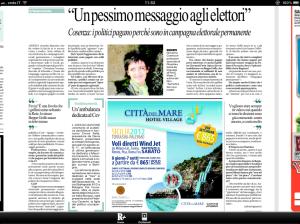Intervista Cosenza 14 agosto 2012