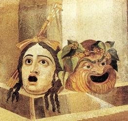Maschera tragica e comica
