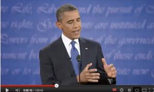 Obama gesti chiusi