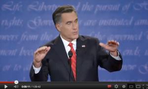 Romney gesti aperti