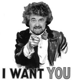Grillo I want you