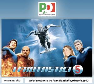 I Fantastici 5 del Pd