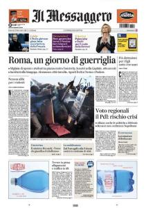 Il Messaggero 15 novembre 2012