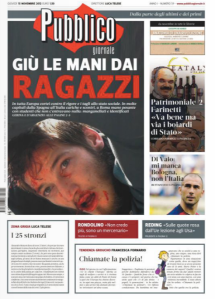 Pubblico 15 novembre 2012