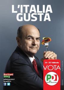 Bersani l'Italia Gusta
