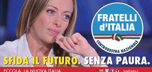 Giorgia Meloni e Fratelli d'Italia