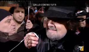 Grillo intervistato da Piazzapulita