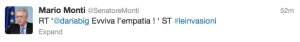 Monti, Viva l'empatia!