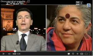 Vandana Shiva vs. Davide Serra
