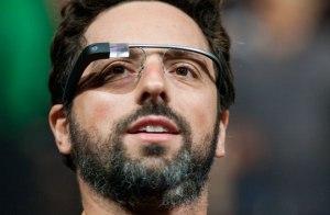 Sergey Brin con Google Glass