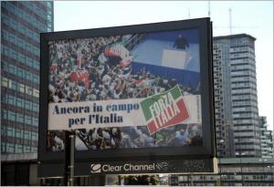 Ancora in campo per l'Italia, affissione