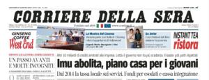 Il Corriere 29 agosto 2013