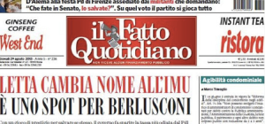 Il Fatto  Quotidiano 29 agosto 2013