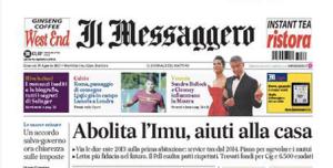 Il Messaggero 29 agosto 2013