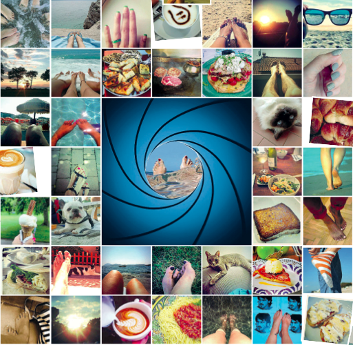 La mania di fotografare i dettagli: piedi, mani, tatuaggi, pizze…