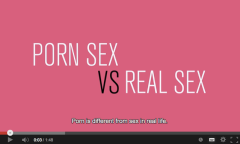 Porn sex vs. real sex