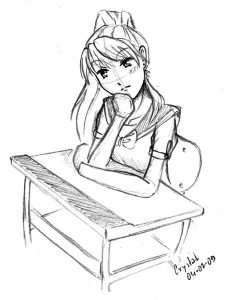 Studentessa manga