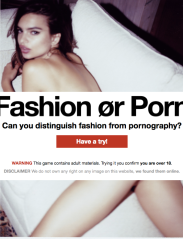 Fashion or Porn?
