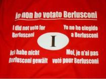 La maglietta dell'antiberlusconiano
