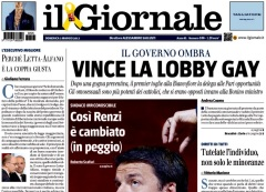 Il Giornale, Vince la lobby gay