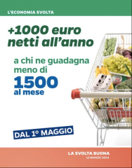 Il carrello di Renzi