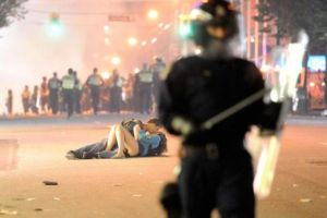 Il bacio a Vancouver