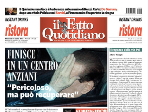 Il Fatto Quotidiano 16 prila 2014